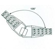 Профиль магнитный 10мм(2,2м) АРТ ГЛ 1007 под углом 135