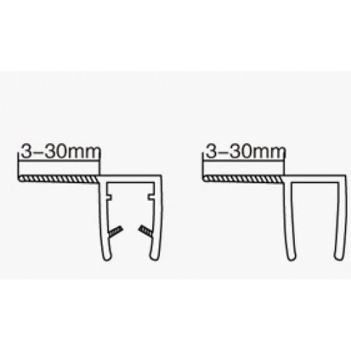 Профиль ПВХ 10мм(2,2м) АРТ ГЛ 1005