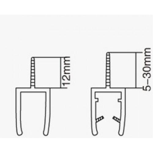 Профиль ПВХ 10мм(2,2м) АРТ ГЛ 1002