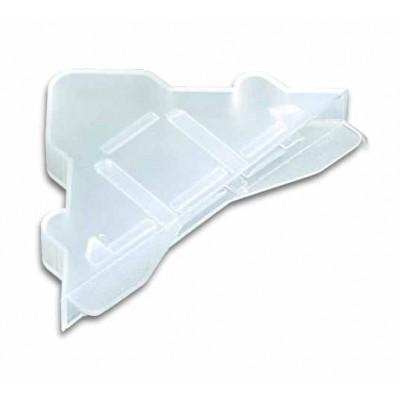Зу-01 Защитный уголок (пластик) на стекло