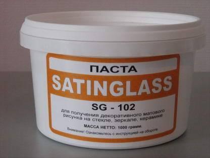 Паста Satinglass SG-102